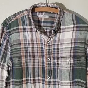 7 For All Mankind Linen Shirt